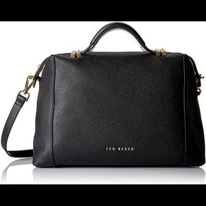 Ted Baker 'Albee' Leather 2-Way Tote Bag